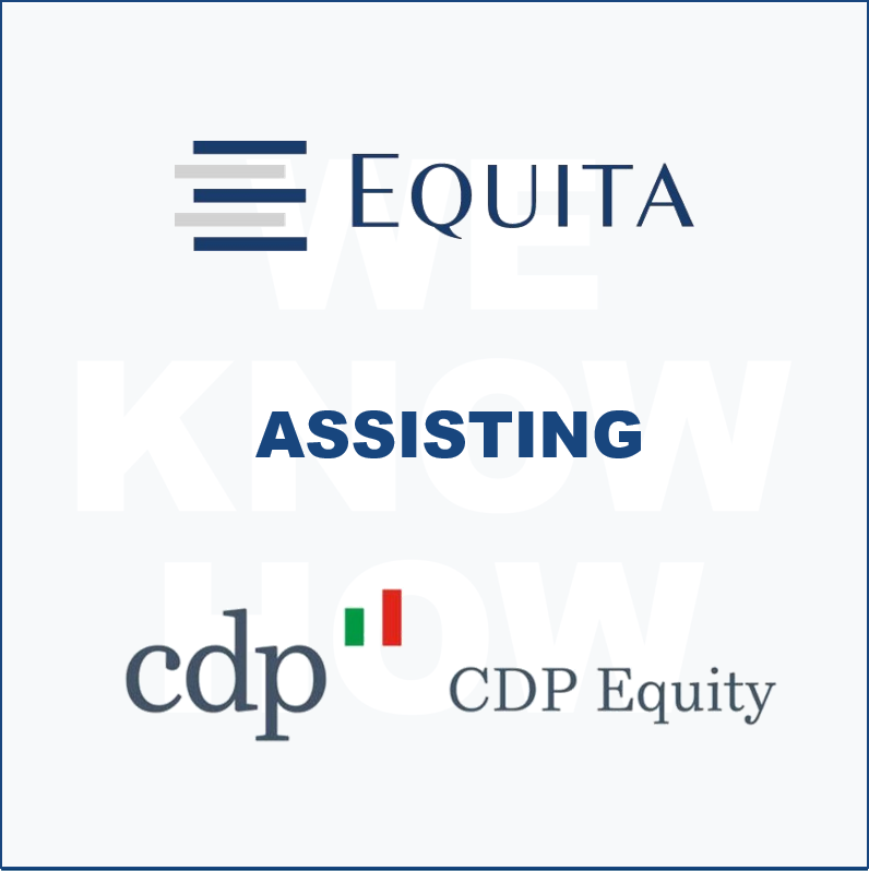 Equita assisting CDP Equity