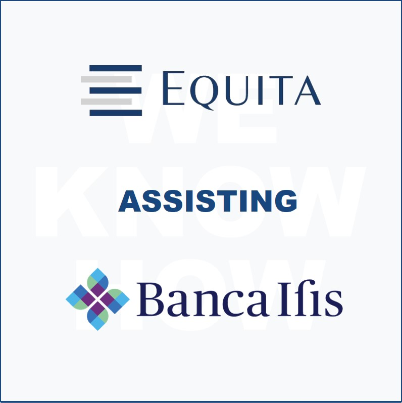 Equita supporting Banca IFIS