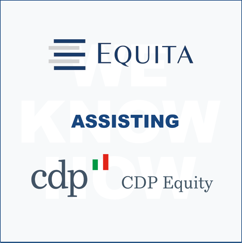 Equita supporting CDP Equity