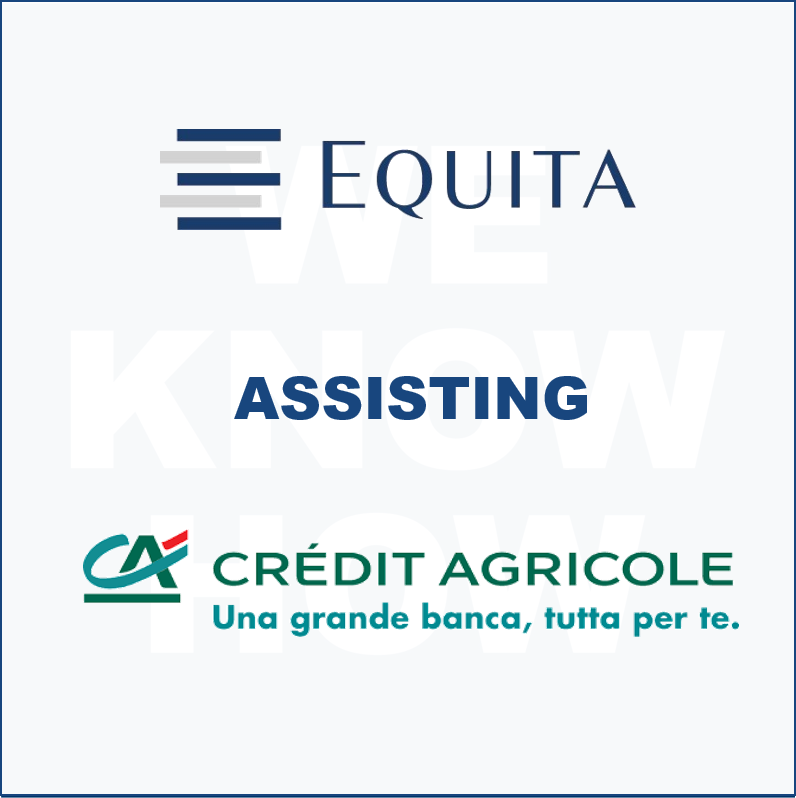 Equita assisting Crédit Agricole Italia