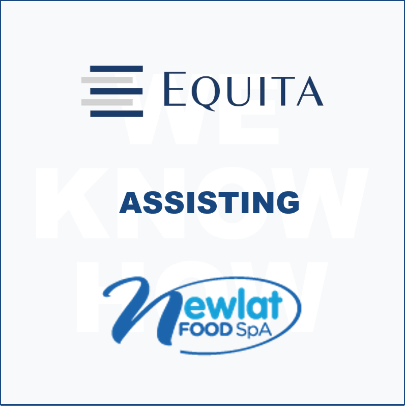 Equita supporting Newlat Food