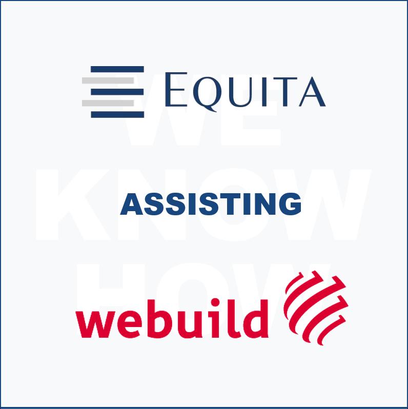Equita assisting Webuild